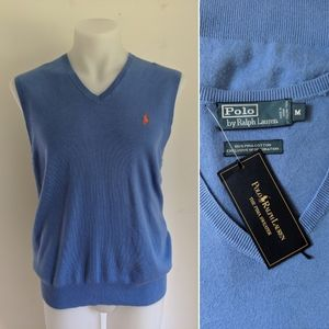 ✨NWT✨POLO by Ralph Lauren V-Neck Sweater Vest M